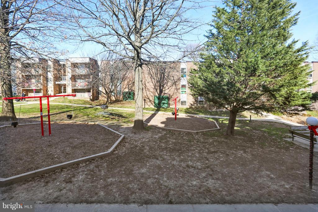 View from Balcony and Condo - 2301 GREENERY LN #104-5, SILVER SPRING