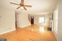 Expansive Living/Dining Room Combo Room. - 14609 BATAVIA DR, CENTREVILLE