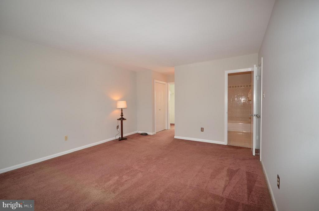 Master bedroom with additional closet space - 14609 BATAVIA DR, CENTREVILLE