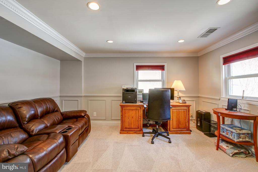 Spacious Rec room on lower level, NEW carpet/paint - 4616 UPLAND DR, ALEXANDRIA