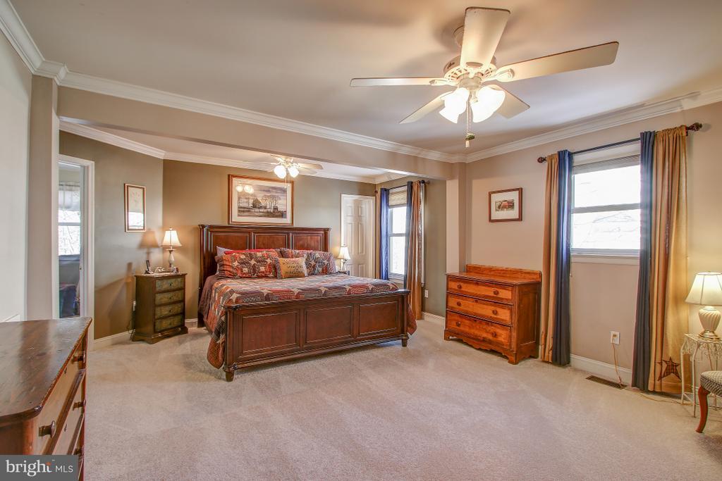 Large Master Suite w/walk in closet - 4616 UPLAND DR, ALEXANDRIA