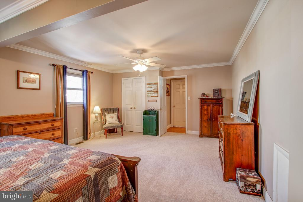 NEW Carpet in master suite - 4616 UPLAND DR, ALEXANDRIA