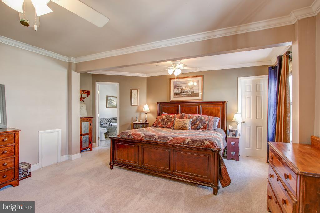 Second/Primary Master Suite on Upper Level - 4616 UPLAND DR, ALEXANDRIA