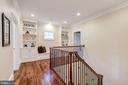 Upper Level - Rear Staircase - 8459 PORTLAND PL, MCLEAN
