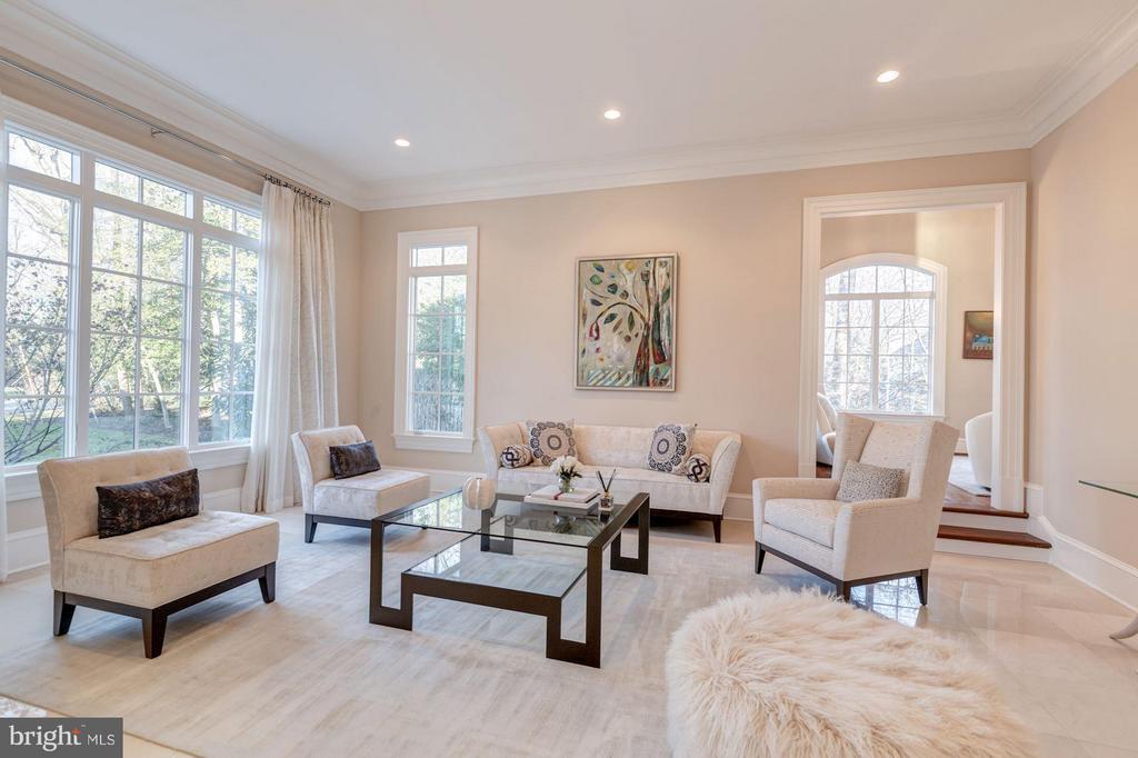 Main Level - Living Room - 8459 PORTLAND PL, MCLEAN