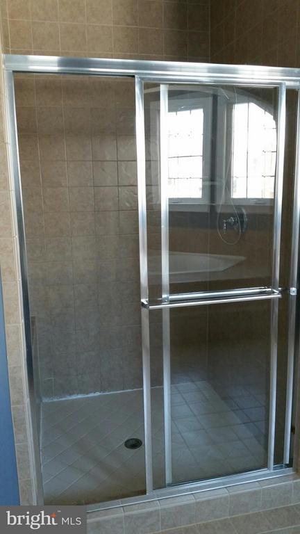 Master shower - 44064 RIVERPOINT DR, LEESBURG