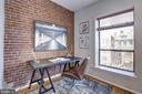 Main Level - Living Room w/ Study Nook - 1416 21ST ST NW #301, WASHINGTON
