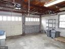 Garage Interior - 5139 ECHOLS AVE, ALEXANDRIA