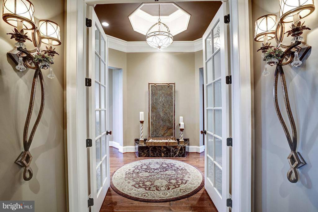 Main Level Master Suite Entrance - 8447 PORTLAND PL, MCLEAN