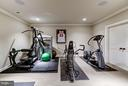 Fitness Room - 8447 PORTLAND PL, MCLEAN