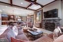 Family Room - 8447 PORTLAND PL, MCLEAN