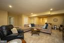 Basement family room for hanging out - 16964 TAKEAWAY LN, DUMFRIES