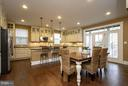 Bright open kitchen - 16964 TAKEAWAY LN, DUMFRIES