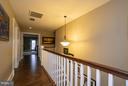 Beautiful hardwoods throughout upper lvl landing - 16964 TAKEAWAY LN, DUMFRIES