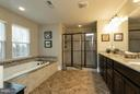 Master suite bathroom - 16964 TAKEAWAY LN, DUMFRIES