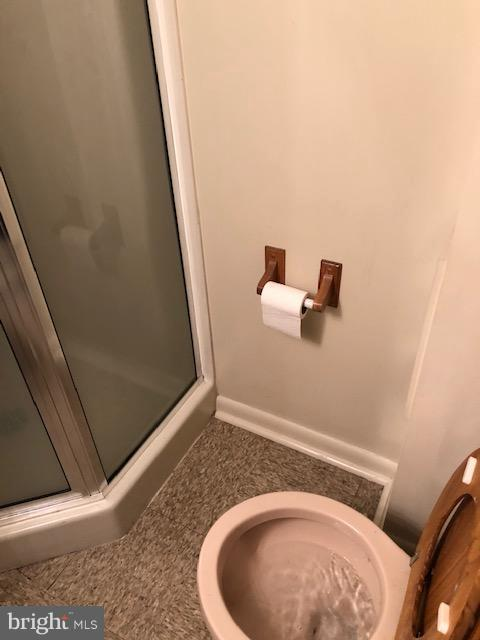 basement full bath - 1123 MICHIGAN AVE NE, WASHINGTON