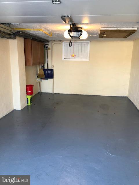 drive in garage on basement level - 1123 MICHIGAN AVE NE, WASHINGTON