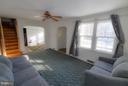 Living Room - 4533 WINDSOR LN, BETHESDA