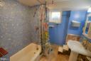 Basement Bath - 4533 WINDSOR LN, BETHESDA