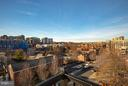 View from roof deck - 1245 PIERCE ST N #11, ARLINGTON