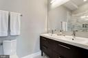Dual vanity sink and dual flush Toto toilet. - 541 SHEPHERD ST NW, WASHINGTON