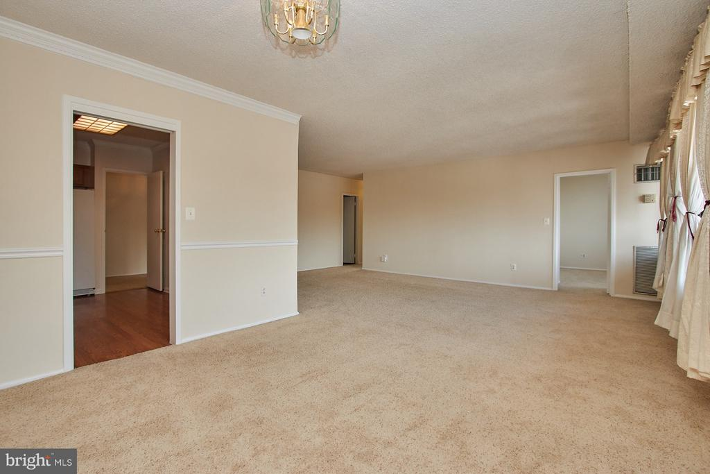 Open Floorplan - 5500 HOLMES RUN PKWY #805, ALEXANDRIA
