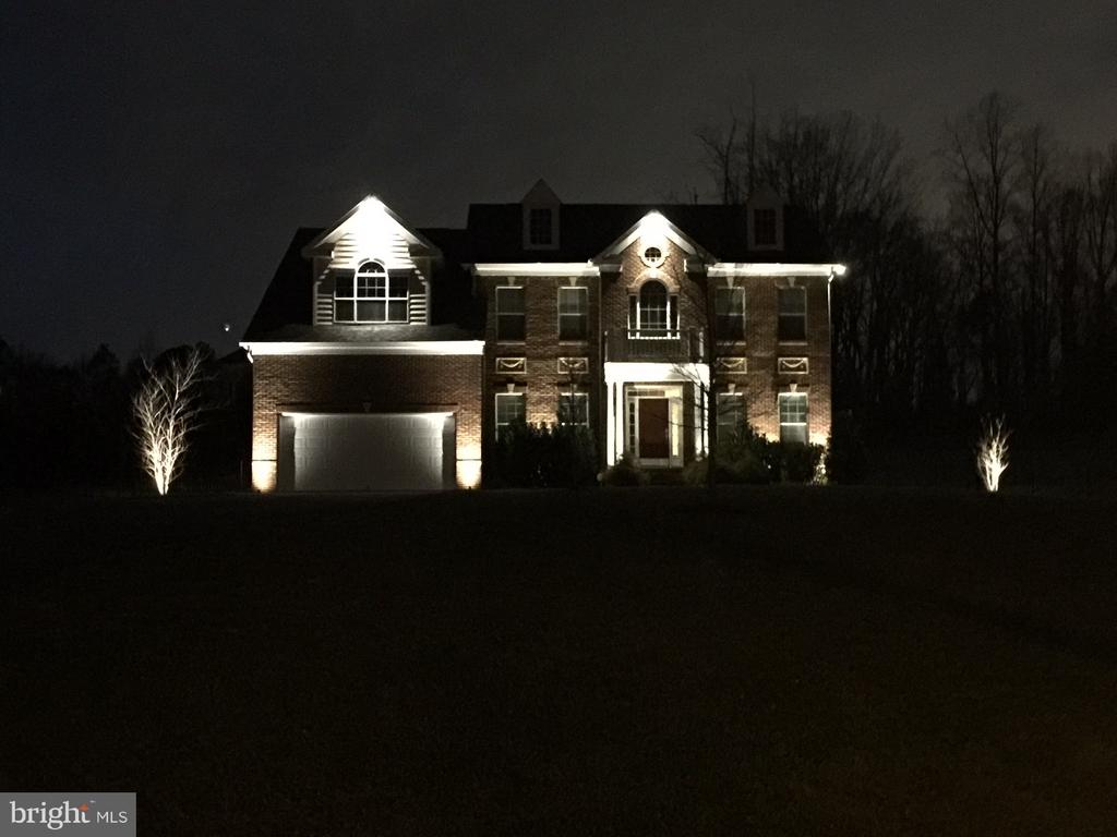 Night time view of lights - 6501 OSBORNE HILL DR, UPPER MARLBORO
