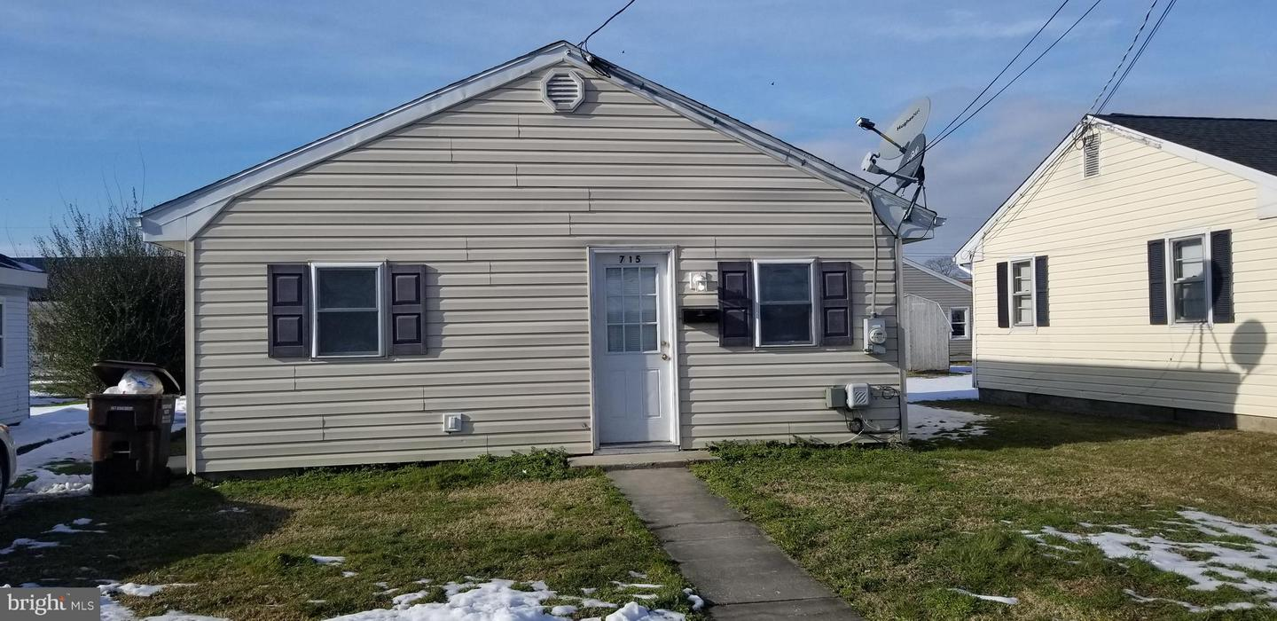 Single Family for Sale at 715 Rigby Ave Cambridge, Maryland 21613 United States