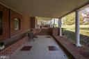 Colonnade from Oakdale to Oakdale Hall - 16449 ED WARFIELD RD, WOODBINE