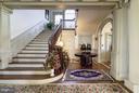 Main Stairway - 16449 ED WARFIELD RD, WOODBINE