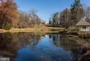View from Pond & Gazebo - 16449 ED WARFIELD RD, WOODBINE