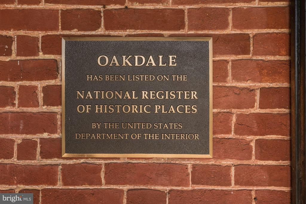 Plaque - National Register of Historic Places - 16449 ED WARFIELD RD, WOODBINE