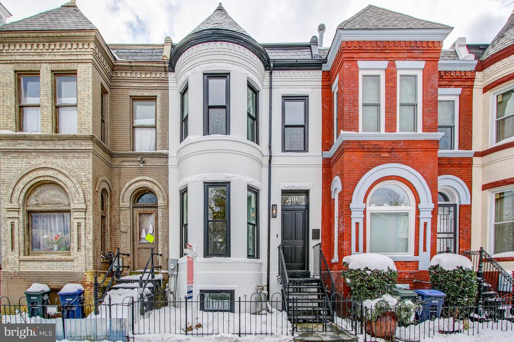 Beautiful Victorian facade - 406 N ST NW, WASHINGTON