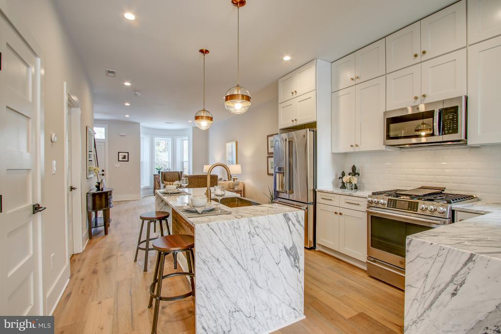 Marble countertops - 406 N ST NW, WASHINGTON