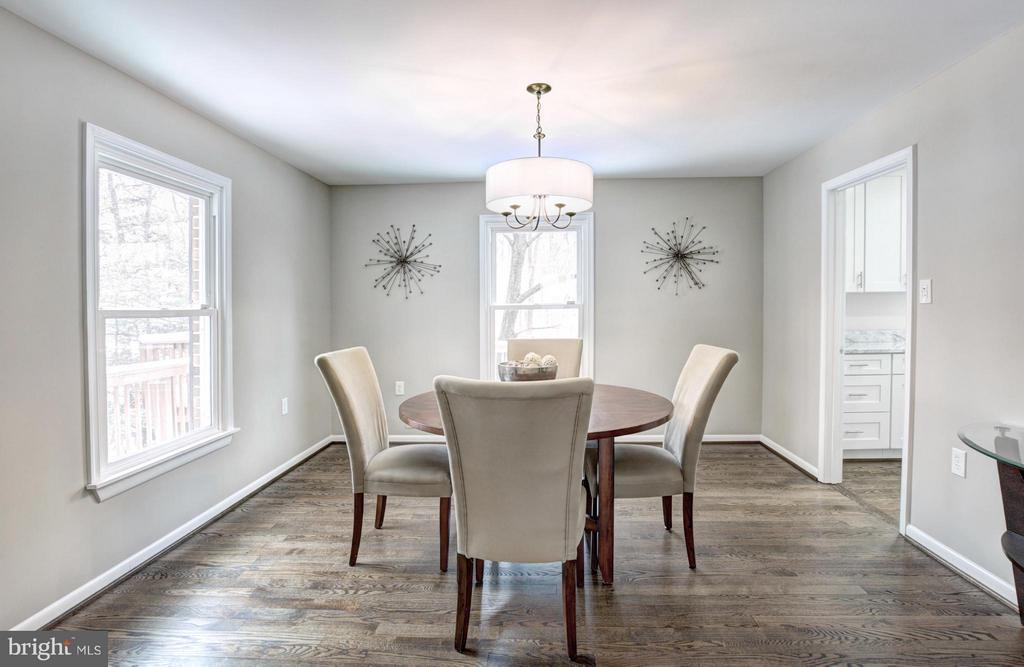Dining Room - 7305 BEECHWOOD DR, SPRINGFIELD
