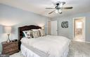 Master Bedroom - 7305 BEECHWOOD DR, SPRINGFIELD
