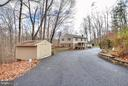 View from Driveway - 7305 BEECHWOOD DR, SPRINGFIELD