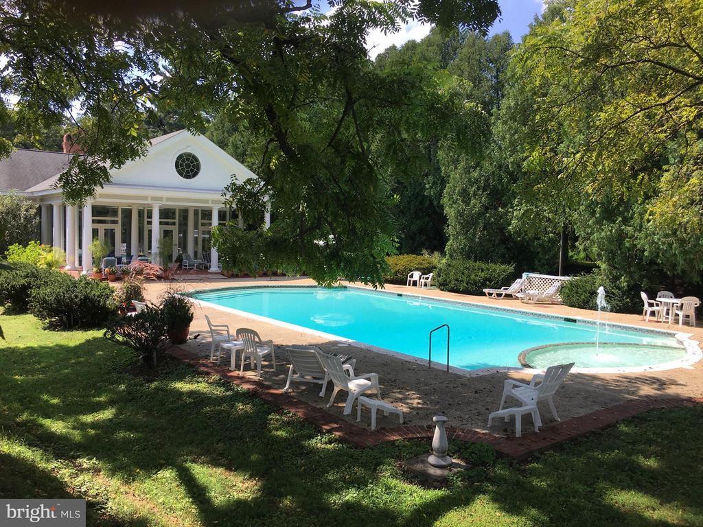 Pool by Oakdale Hall - 16449 ED WARFIELD RD, WOODBINE