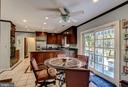 Breakfast Room with view to Kitchen - 4148 ROUND HILL RD, ARLINGTON