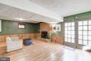 Leisure Room with fireplace and wet bar - 4148 ROUND HILL RD, ARLINGTON