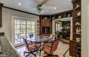 Breakfast Room with custom built-ins - 4148 ROUND HILL RD, ARLINGTON
