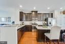 Staggered Raised Panel  Cabinets w/ Crown Molding - 117 SWEETGUM CT, STAFFORD