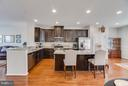Bump-out off the Kitchen to the Right - 117 SWEETGUM CT, STAFFORD