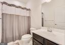 Hall Bathroom with Polished Chrome Sink Faucet - 117 SWEETGUM CT, STAFFORD