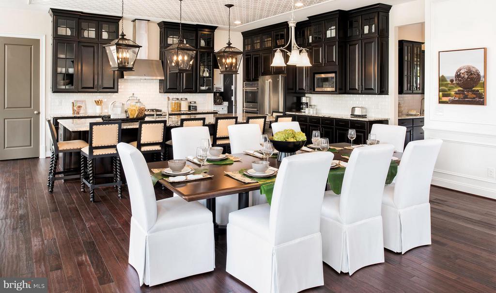 Dining/Breakfast area - 40999 SPANGLEGRASS CT, ALDIE