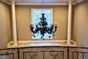 Venetian glass chandelier - 534 UTTERBACK STORE RD, GREAT FALLS
