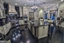 Kitchen with Wolf range Sub Zero and 4 ovens - 534 UTTERBACK STORE RD, GREAT FALLS