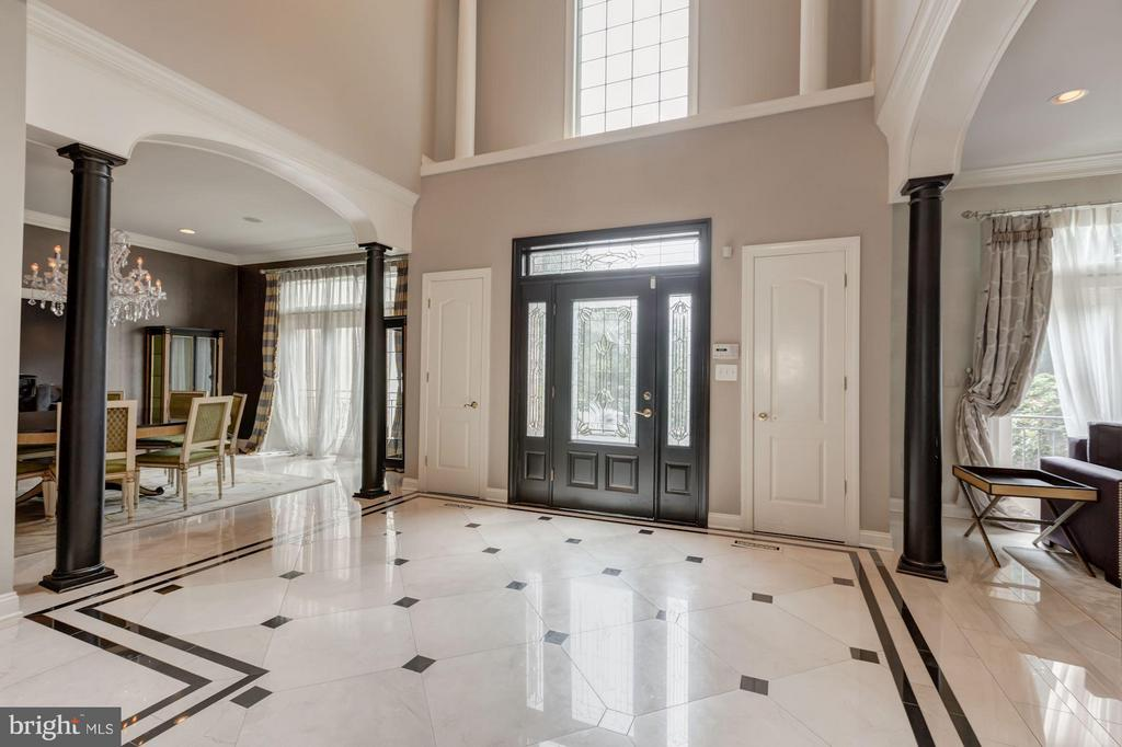 Marble entry - 534 UTTERBACK STORE RD, GREAT FALLS