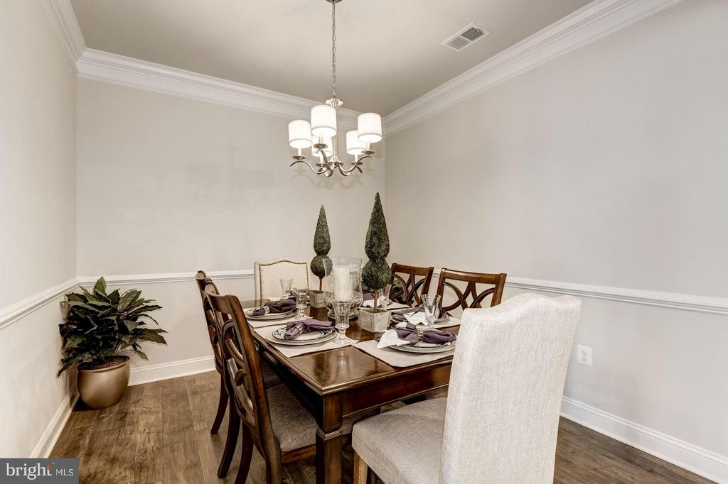 Faircourt Dining Room - 21007 ROCKY KNOLL SQ #105, ASHBURN