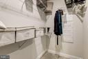 Faircourt  Master Bedroom Closet - 21007 ROCKY KNOLL SQ #105, ASHBURN
